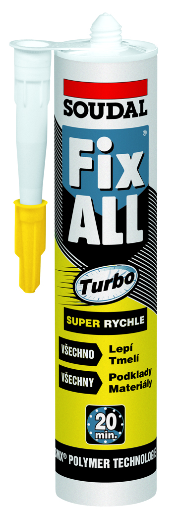 Soudal FIX ALL TURBO BIELY 290ml